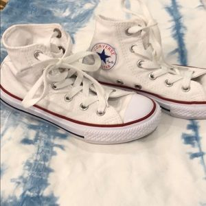 Youth converse all star chuck taylor high tops
